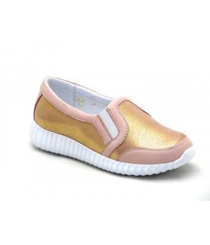 Золотистые кроссовки для девочки Palaris 2148-3  (31-35р.)