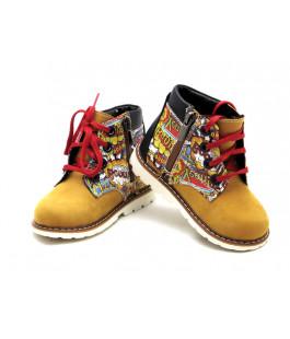 Демисезонные стильные ботиночки для детей Palaris 2112-118  (22-27р.)