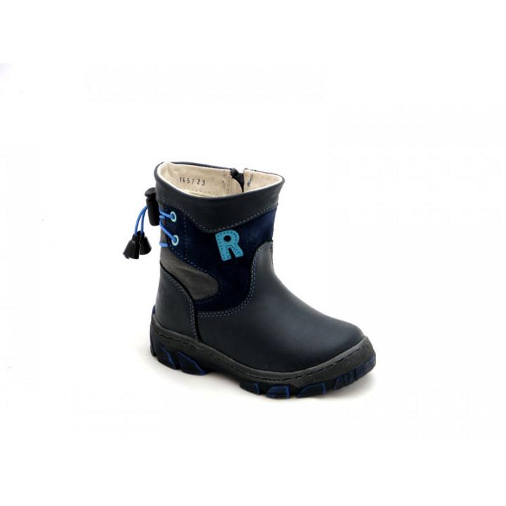 Купить теплые зимние сапоги для мальчика Ren-But 12-1457 Granat