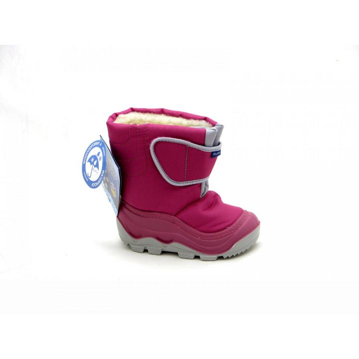 Дитяче взуття RenBut - Купити дитячі зимові дутики RenBut Muflon 23-388 Amarant