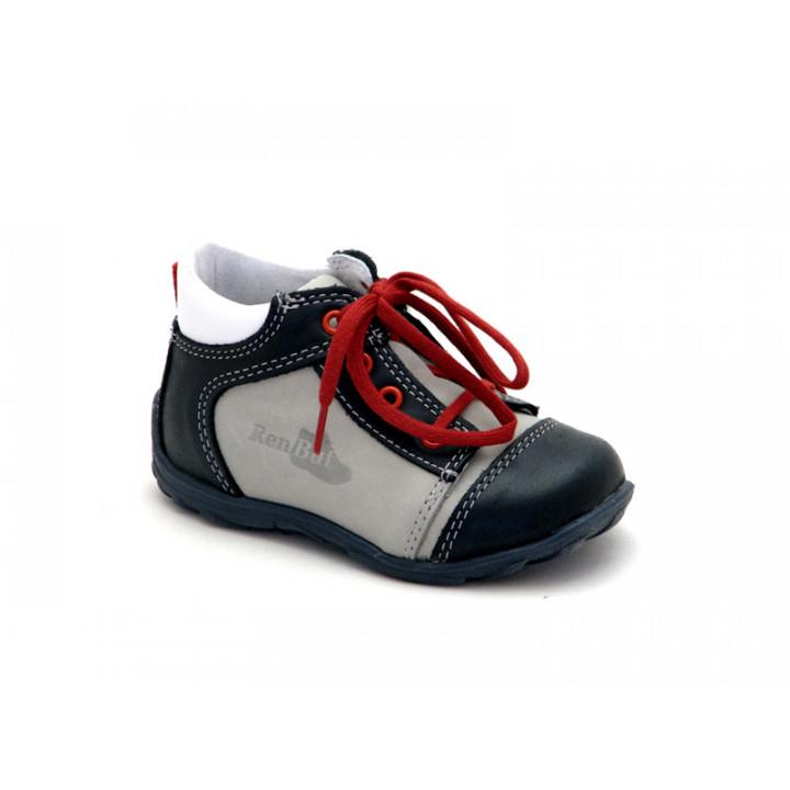 Купить стильные демисезонные ботинки для мальчика Ren-But 13-1442 Popiel
