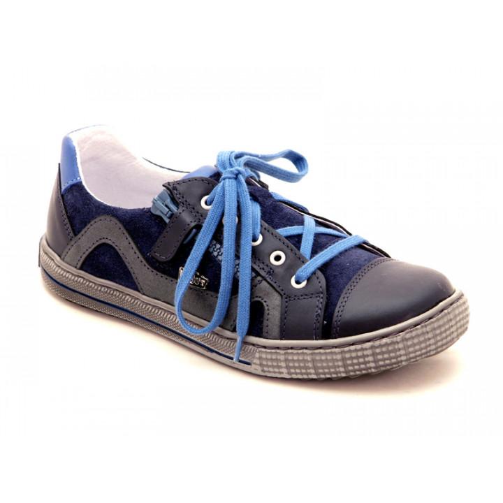 Стильные спортивные туфли для школьников мальчиков Ren-But 33-4217 Granat Popiel
