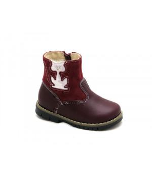 Дитячі зимові чобітки Ren-But 12-1505 Bordo (20-25p.)