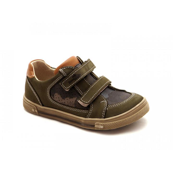 Купити дитячі спортивні туфлі на хлопчика Ren-But 23-3191 Moro-Oliwka - натуральна шкіра