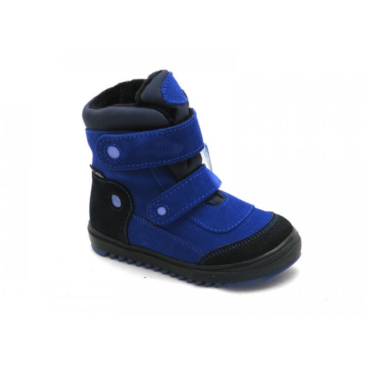 Купить теплые зимние термоботинки для мальчика Ren-But 12-1524 Синий