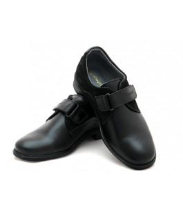 Черные классические туфли для мальчика ShagoVita 51226 (32-37р.)