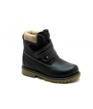Зимние ботинки для мальчиков ShagoVita 35117Ш черный (27-31р.)