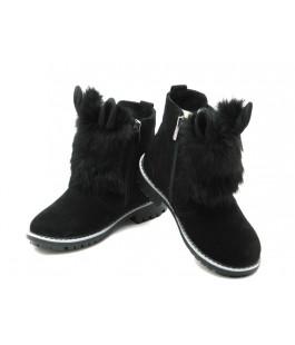 Зимние ботинки Мальвы Ш403О черный (31-36р.)