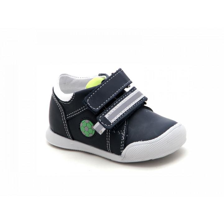 Купить кожаные синие ботиночки для мальчиков ShagoVita (Беларусь) 11129
