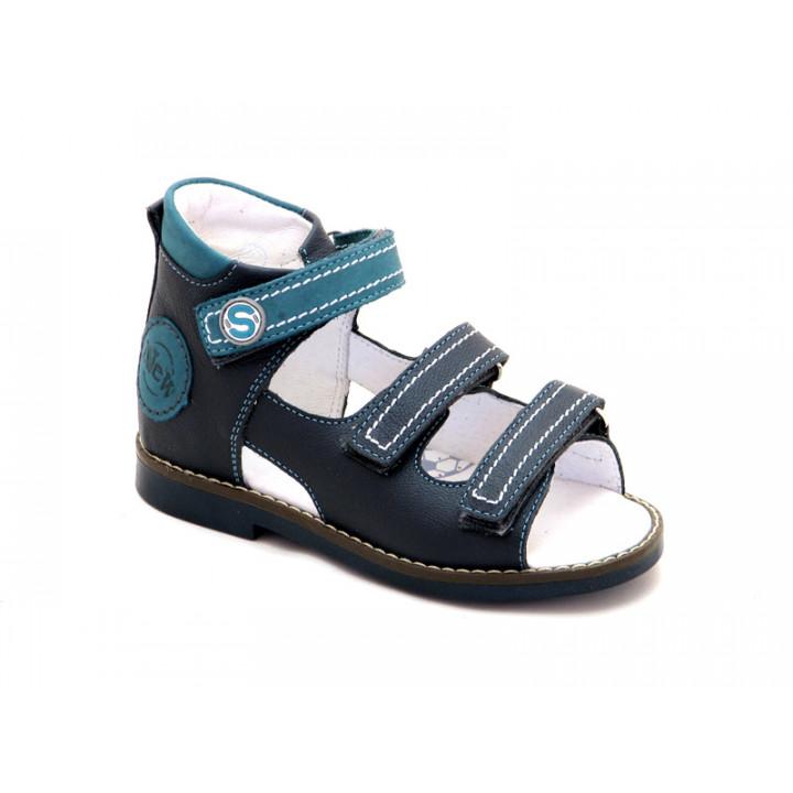 Купить кожаные босоножки для мальчиков ShagoVita VERO 34104