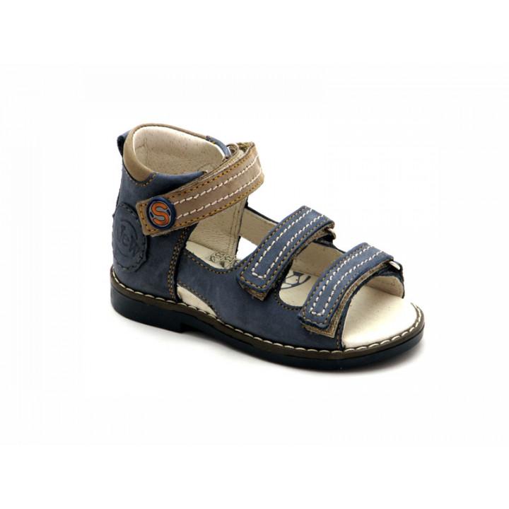 Купить кожаные босоножки для мальчиков ShagoVita VERO 24104