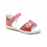 Нежно-розовые кожаные босоножки для девочек ShagoVita 6488 (32-37р.)