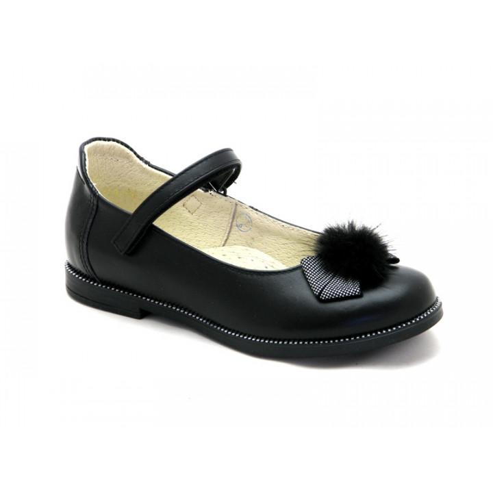 Купить туфли для девочек школьниц ShagoVita (Беларусь) 43182 черный