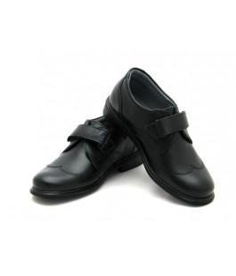 Туфлі шкільні на хлопців ShagoVita 31149 чорний (30-31р.)