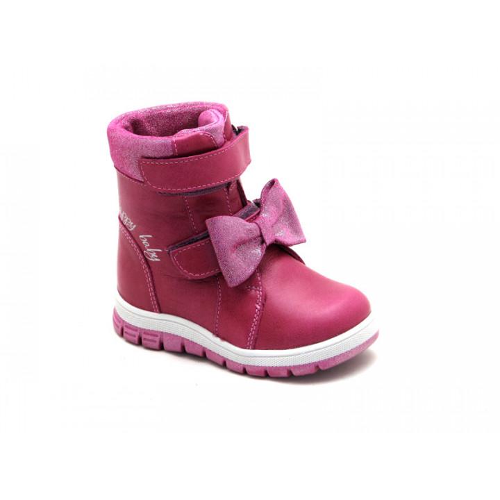 Зимові чоботи для дівчинки ShagoVita 26139Ш - Натуральна овеча шерсть