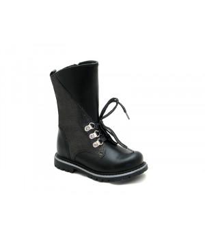 Сапоги зимние для девочек ShagoVita 46139Ш черный  (27-31)