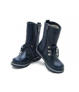 Чоботи дитячі  зимові для дівчинки ShagoVita 46139Ш синій (27-31р.)