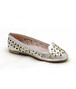 Туфлі літні для дівчинки СкаЗка L14262 Silver (32-37р.)