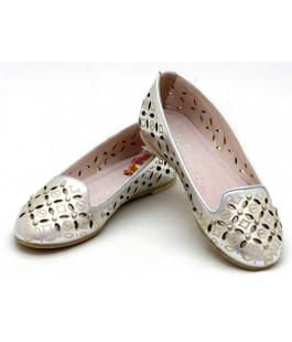 Туфли летние для девочки СкаЗка L14262 Silver (32-37р.)