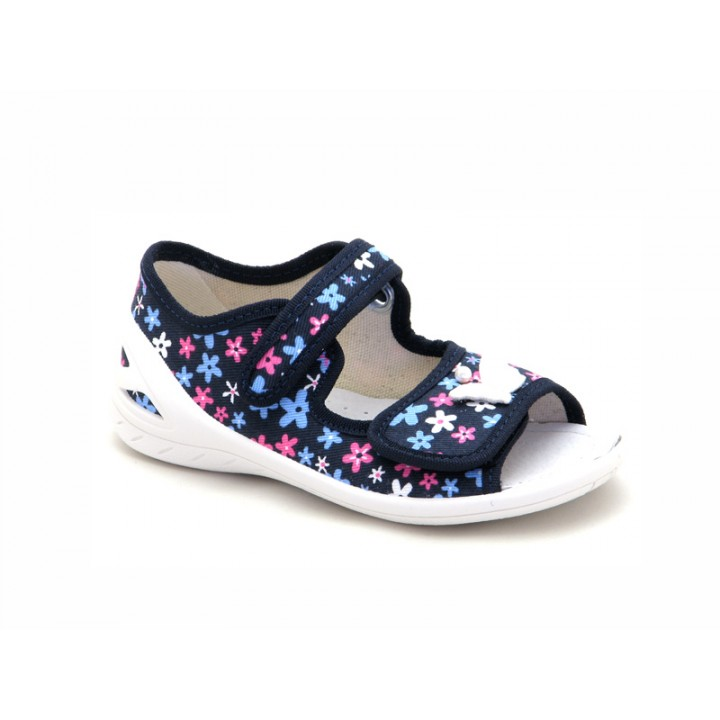 Купить текстильные детские босоножки для девочек WALDI 274-614