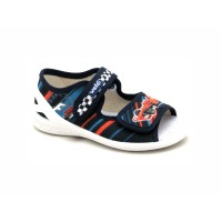 Дитячі текстильні босоніжки  WALDI 360-096 (23-30р.)