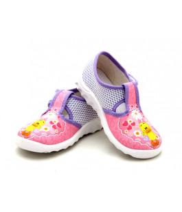 Детские тапочки для девочек WALDI 222-137 (21-27р.)