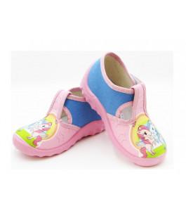 Детские тапочки для девочек WALDI 382-169 (21-27р.)
