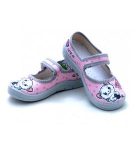 Дитячі тапочки  WALDI для дівчинки 360-312 (24-30р.)