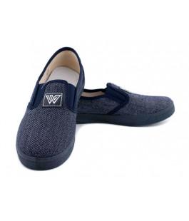 Текстильні мокасини для хлопчиків  WALDI 225-495-2 (30-36р.)