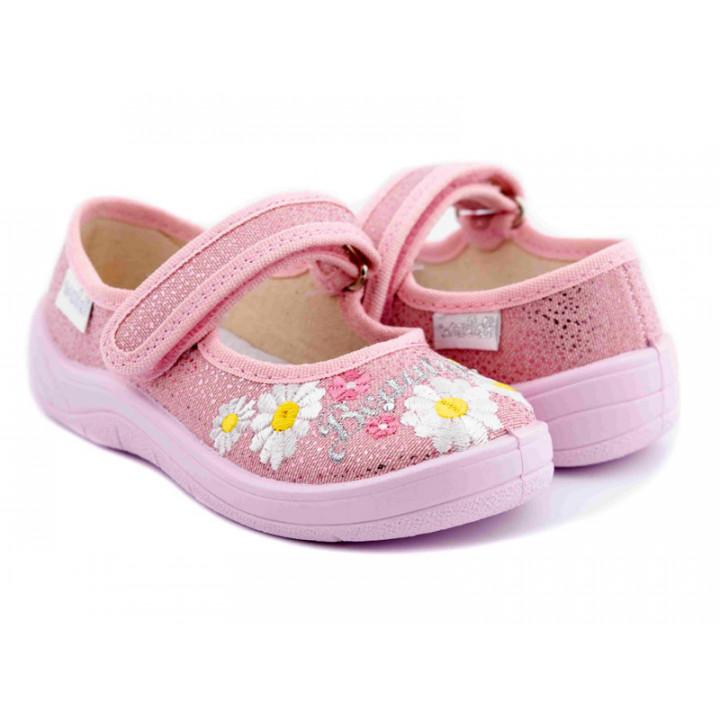 Купити дитячі тапочки для дівчат WALDI 279-748