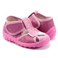 Дитячі тапочки  WALDI для дівчинки 179-508 (21-27р.)