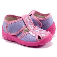 Детские тапочки для девочки WALDI 178-525 (21-27р.)