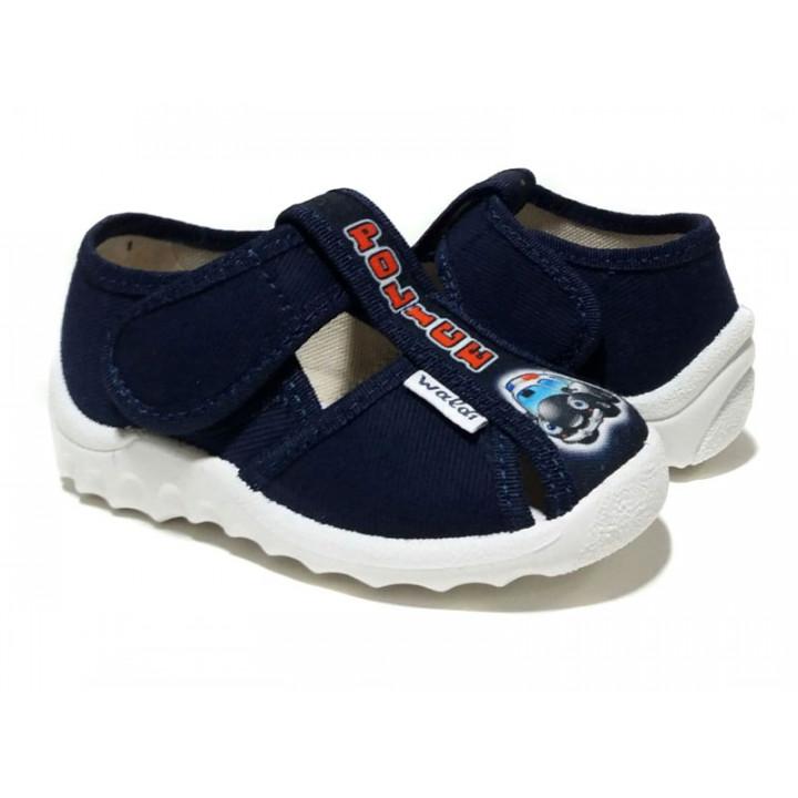 Купити дитячі тапочки для хлопчиків WALDI 12-355