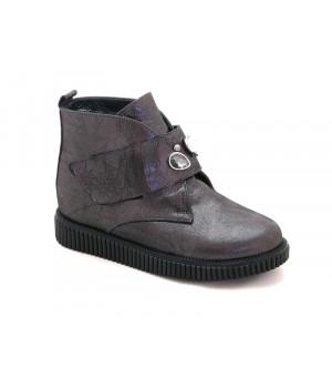 Стильні демісезонні черевики для дівчинки BRAVI 012030 (31-36р.)