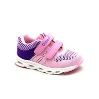 LED Кросівки для дівчинки CliBee F766 pink (21-26р.)