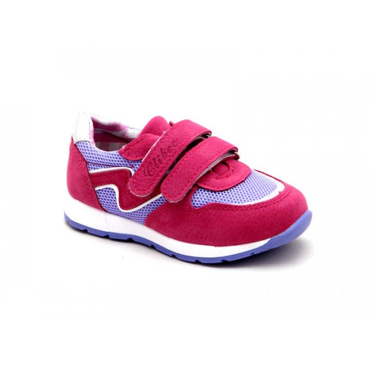 Купить кроссовки для девочек CliBee K309 peach
