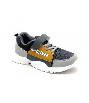 Кросівки для хлопчика CliBee K315 grey (32-37р.)