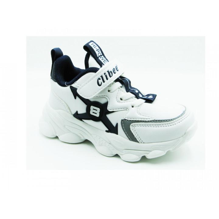 Купити дитячі кросівки CliBee L-60 white