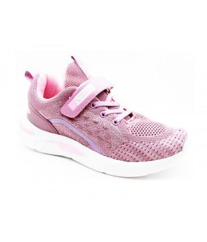 Кроссовки для девочек CliBee F867 Pink (32-37р.)