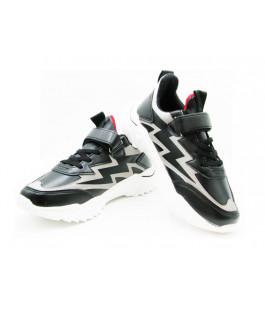 Кросівки для хлопчика CliBee L-70 black (32-37р.)