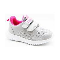 Кросівки для дівчинки CliBee L-15 grey-pink  (20-25р.)
