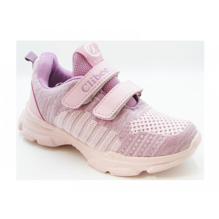 Купить кроссовки для девочки CliBee L-16 pink