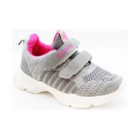 Кросівки для дівчинки CliBee L-16 grey-pink  (26-31р.)