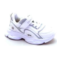 Кроссовки для девочки CliBee L-191A white (32-37р.)