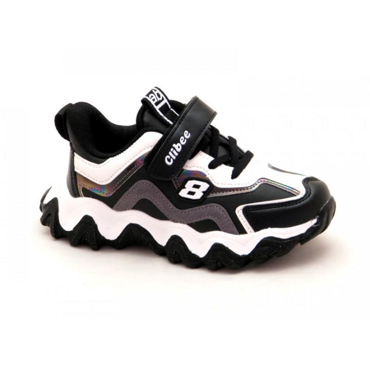 Купить кроссовки для мальчика CliBee L-180 black