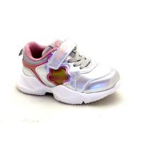 Кросівки для дитини CliBee F919 silver  (21-26р.)