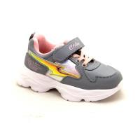 Кроссовки для девочки CliBee F960 grey (26-31р.)