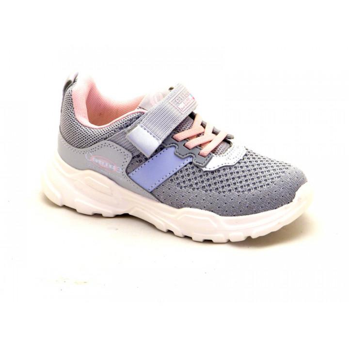 Купить кроссовки для девочек CliBee F898 Grey-Pink
