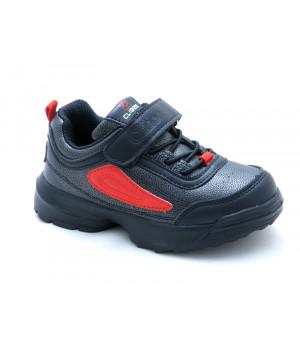 Кросівки для дитини CliBee F932 black-red  (26-31р.)