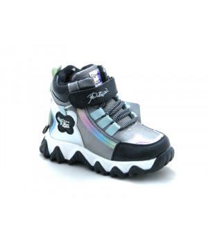 Зимові черевики для дівчинки BESSKY 579-3 (23-28р.)